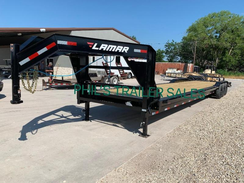 2019 40'  Lamar Trailers HD EQUIPMENT HAULER Equipment Trailer