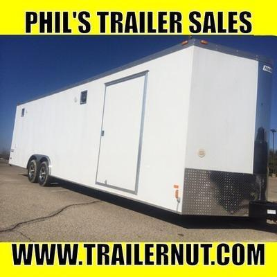 2015 Haulmark Trailers V NOSE CAR HAULER Car / Racing Trailer