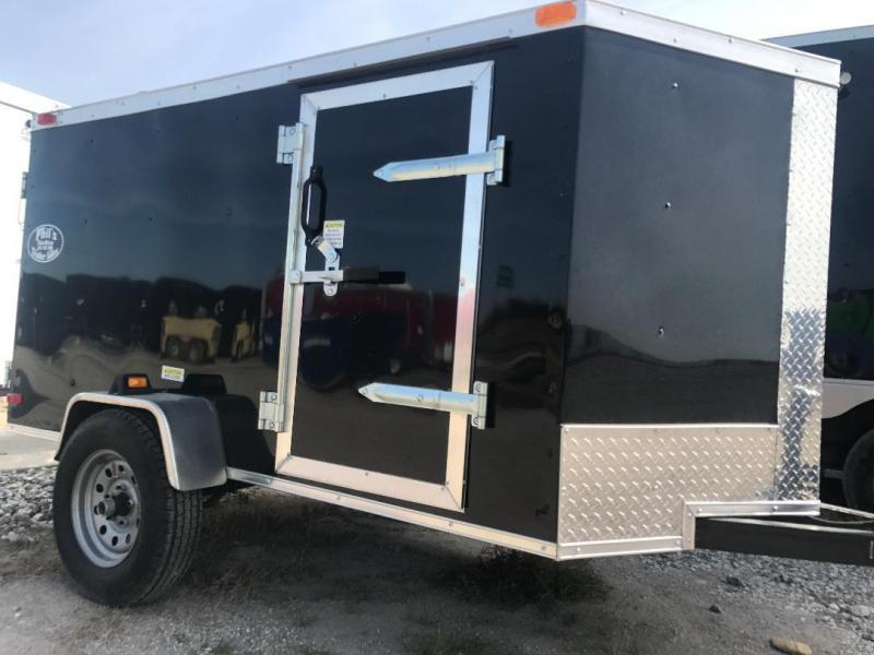 2018 Texas Select 4x6 Enclosed Cargo Trailer