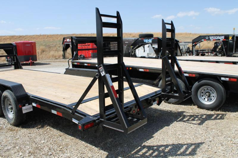 Lamar Trailers 83x20 fold up ramps  Equipment trailer Equipment Trailer