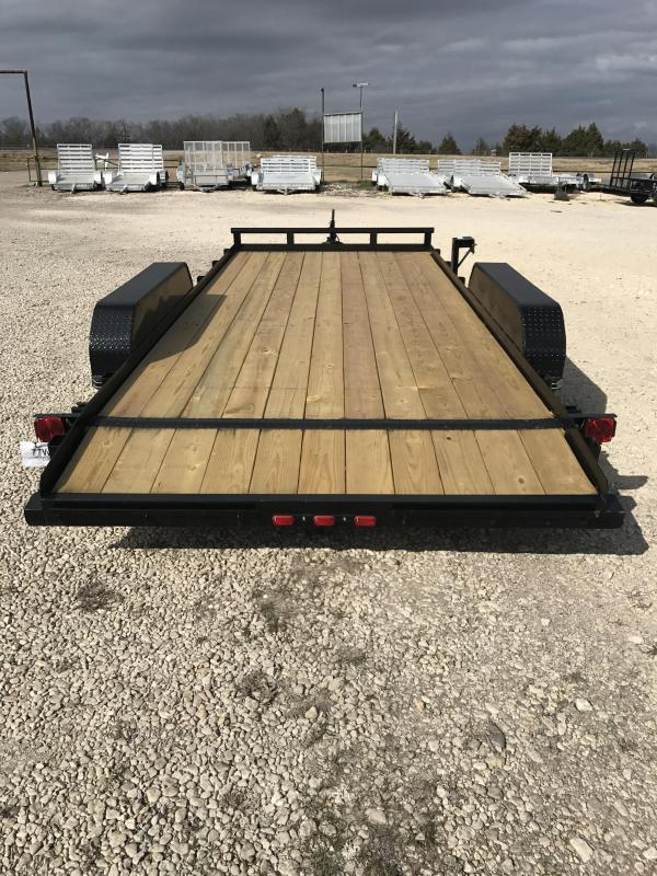 2018 Tiger 18 ft car hauler Equipment Trailer