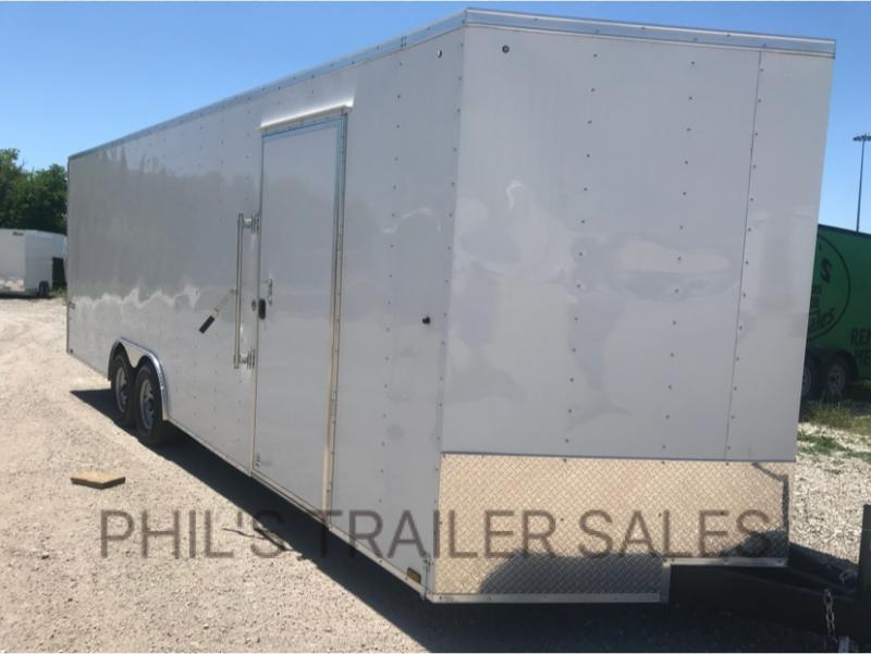 2018 Pace American 8.5 x24 30 V nose 7 ft  CAR HAULER Cargo / Enclosed Trailer