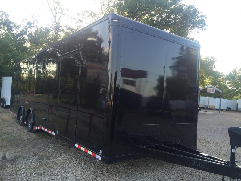 2015 32' Continental Cargo BLACK OUT  AUTO MASTER Car / Racing Trailer enclosed trailer