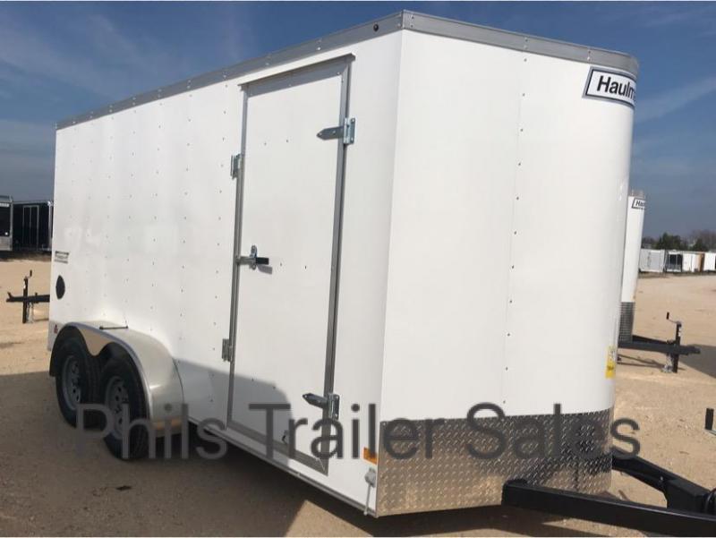 HAULMARK  7x14+2 v Enclosed trailer Fast Track Cargo / Enclosed Trailer