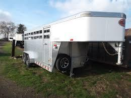 Sundowner Trailers 20 Rancher Express gooseneck Stock / Stock Combo Trailer