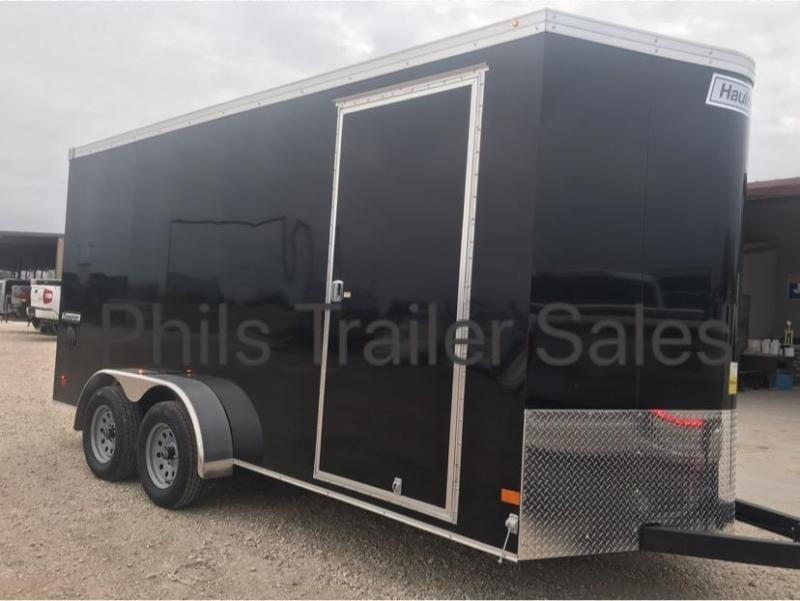 7x14 TA Haulmark 7 FT UTV TRANSPORT SCREWLESS  Cargo / Enclosed Trailer