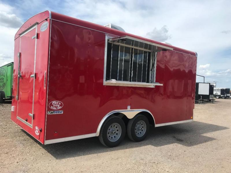 2019 Continental Cargo 8.5x16 Concession Vending / Concession Trailer