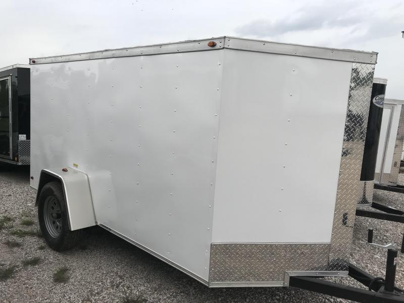 2018 Texas Select 5x10 2 v nose Enclosed Cargo Trailer