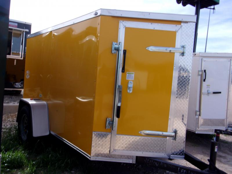 2018 Texas Select 5X8 Enclosed Cargo Trailer