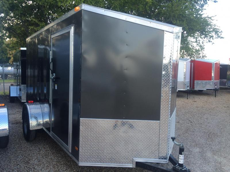 2015 Covered Wagon Trailers 6x12 slant nose Cargo / Enclosed Trailer