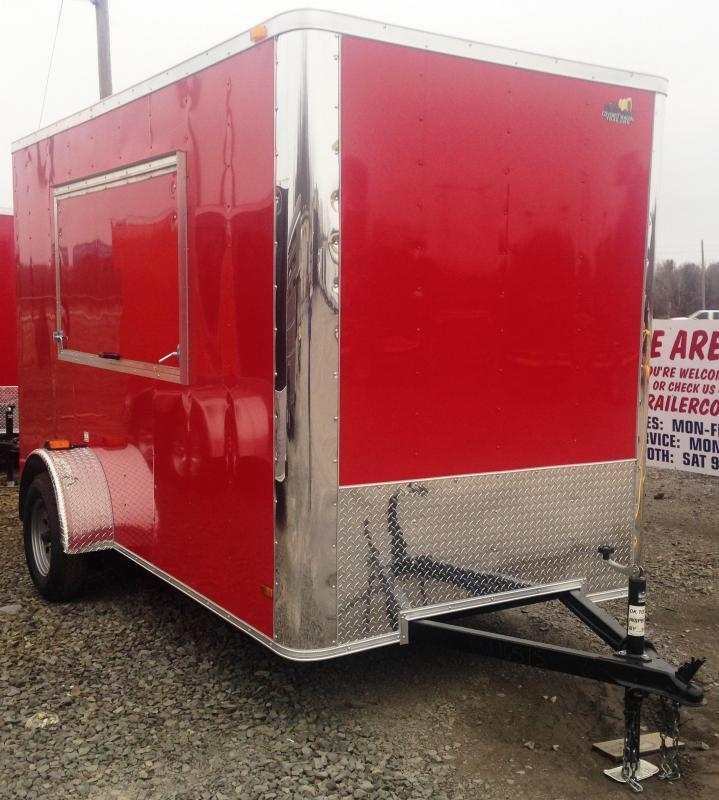 6x12 Concession Vending / Concession Trailer Enclosed Trailer