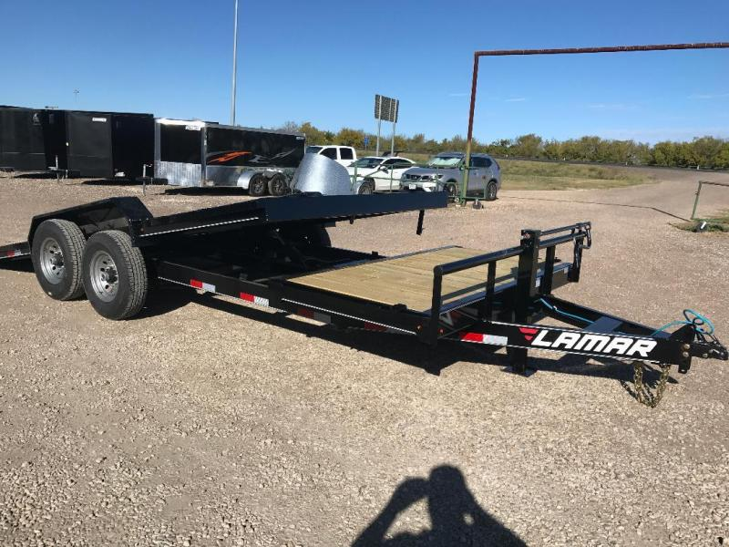 2018 Lamar Trailers 20 TILT 7 k axles 14 k  gvwr Equipment Trailer