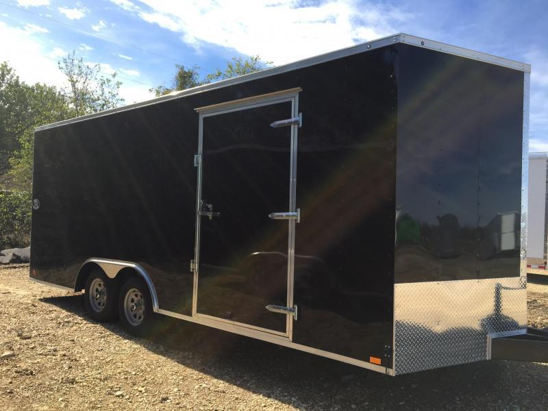 """Continental Cargo  8 5 x 20 Enclosed +6"""" extra ht"""