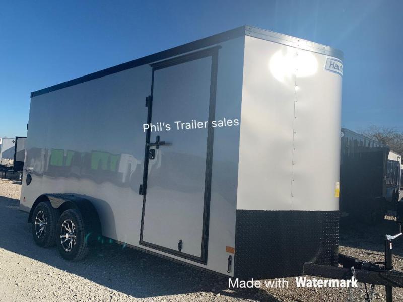 HAULMARK  7X14 + V 7 FT interior ENCLOSED TRAILER COMMERCIAL GRADE ROAD FORCE Enclosed Cargo Trailer