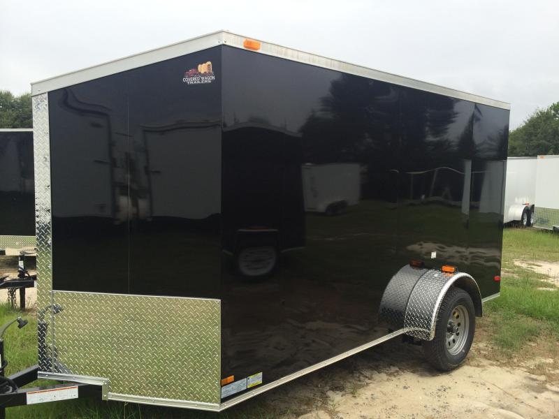 2015 Covered Wagon Trailers SCREWLESS 6x12 30 Cargo / Enclosed Trailer
