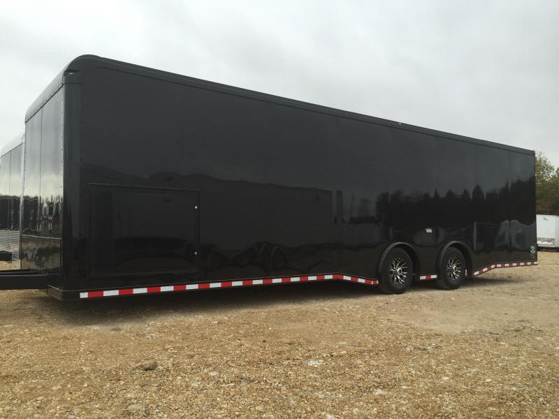 2016 Continental Cargo Auto Master 32 Ft Blacked Out