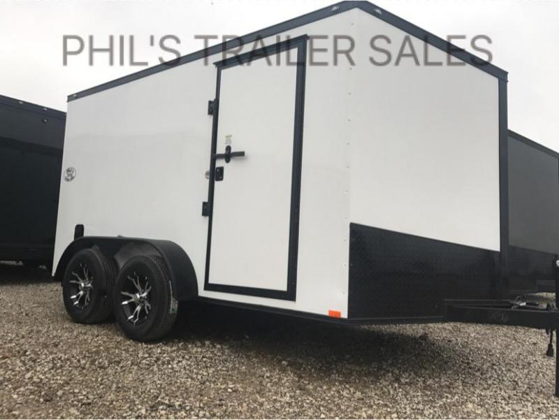 2018 Spartan 7x12  Screwless Cargo / Enclosed Trailer