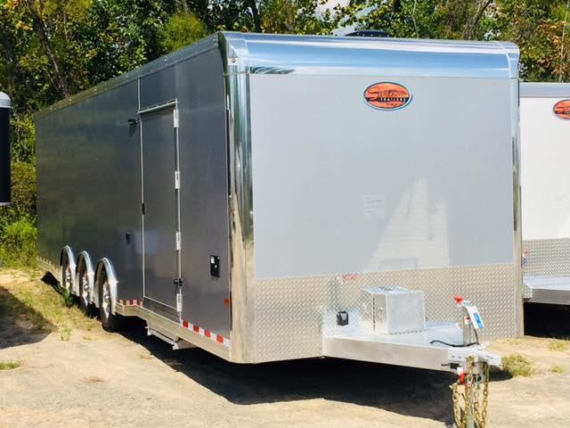 2019 32 Sundowner Trailers BATHROOM TRAILER Car / Racing Trailer
