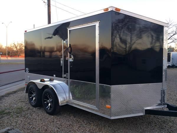 2015 Covered Wagon Enclosed Trailer Chromed Out Motorcycle Trailer