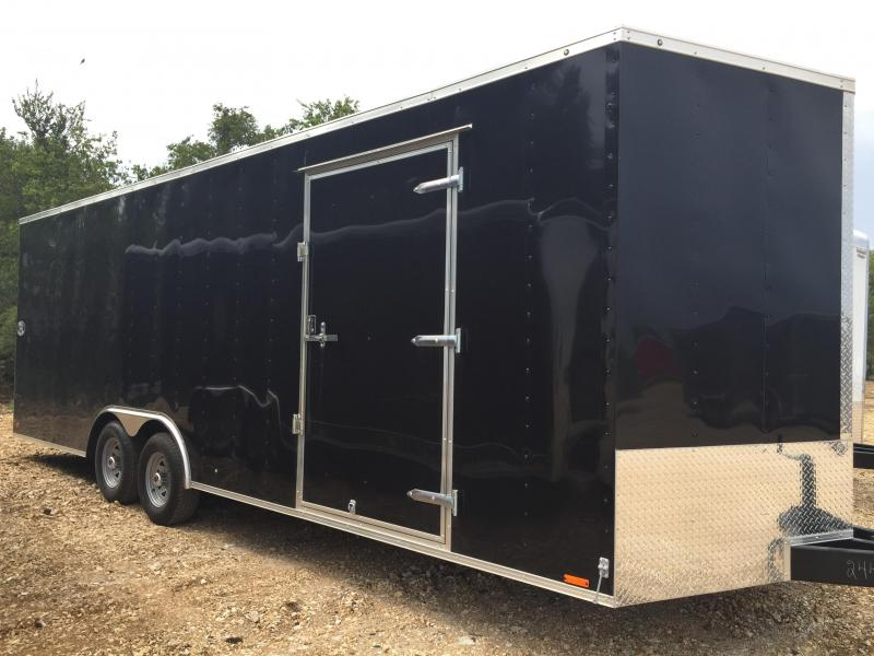 Continental Cargo  8 5 x 20 Enclosed trailer* BLACK