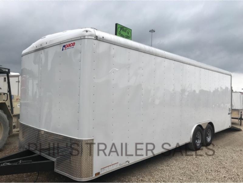 2018 8.5 x24 7 ft interior 5200 lb Pace American Car Hauler Cargo / Enclosed Trailer