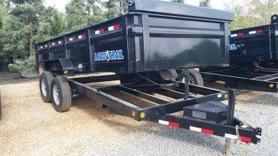 "2017 Load Trail  83"" x 16' Tandem Axle Dump w/Scissor Lift Trailer"