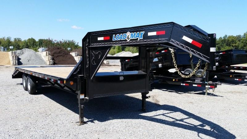"2017 Load Trail 102"" x 25' Heavy Duty Gooseneck Trailer"