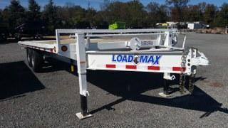 "2017 Load Trail 102"" X 22' Pintle Hook Tilt Deck Equipment Trailer"