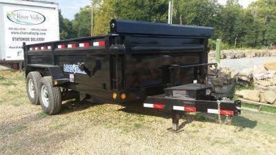 """2016 Load Trail 83"""" x 14' Tandem Axle Dump Trailer"""