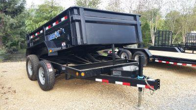 "2017 Load Trail 83"" x 10' Tandem Axle Dump Trailer"