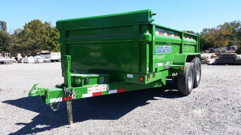 "RENTAL - 2017 Load Trail 72""x 10' Dump Trailer - RENTAL"