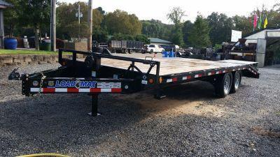 2016 Load Trail 102 x 22 Standard Pintle Hook Deck Over Trailer
