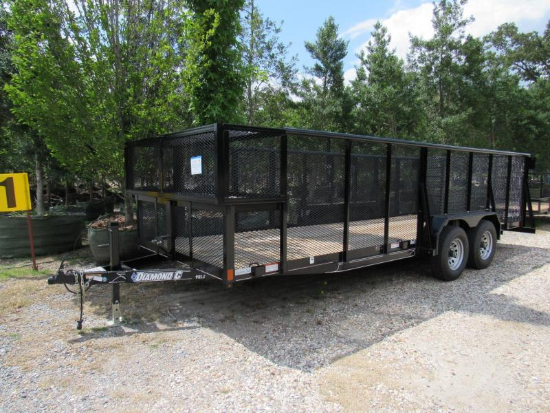 "2017 20' x 83"" Diamond C Landscape Trailer - FOR RENT"