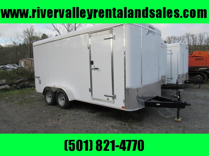 2019 Homesteader 7X16 Enclosed Cargo Trailer