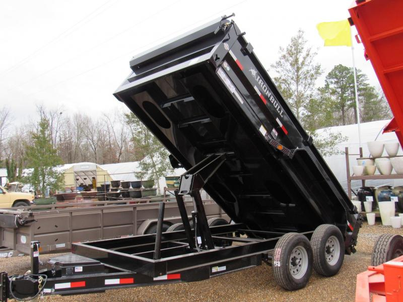 "2017 Iron Bull Low-Pro 83"" x14' Dump Trailer"