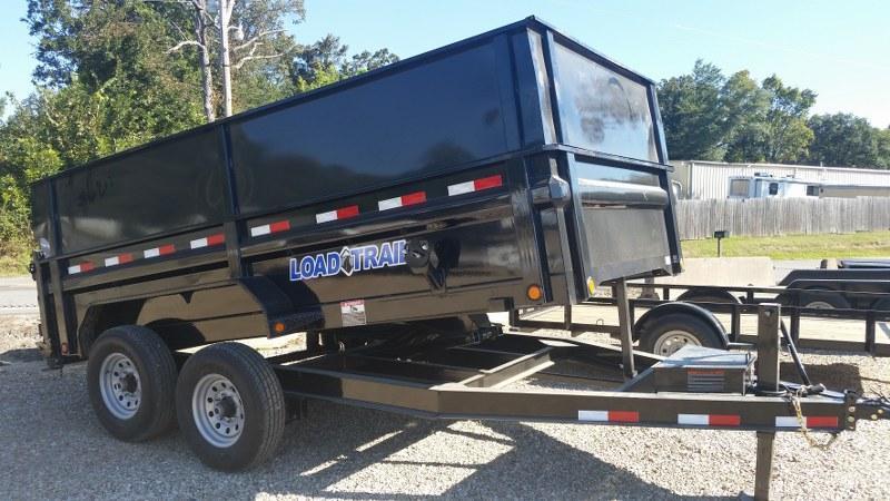"""2017 Load Trail 83""""x14' Low Pro Tandem Axle Dump Trailer"""