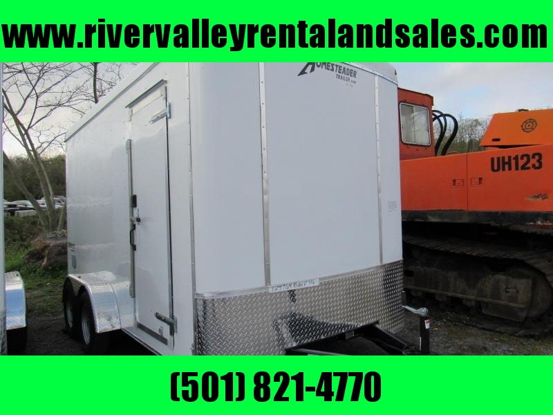 2019 Homesteader 7X14 Enclosed Cargo Trailer