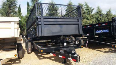 "2017 Load Trail  83"" x 14' Tandem Axle Dump Trailer 24 Inch Exp. Metal Extension"