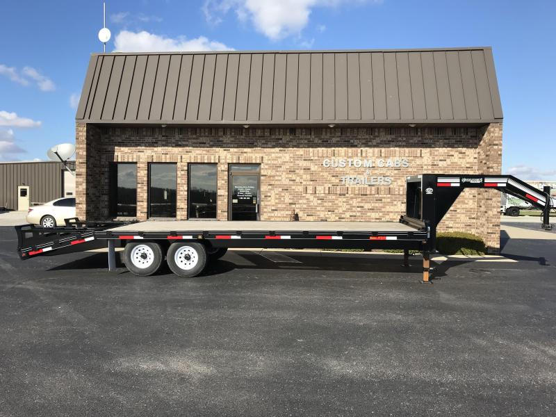 2019 Golden 20' + 5'  7K Flatbed Trailer