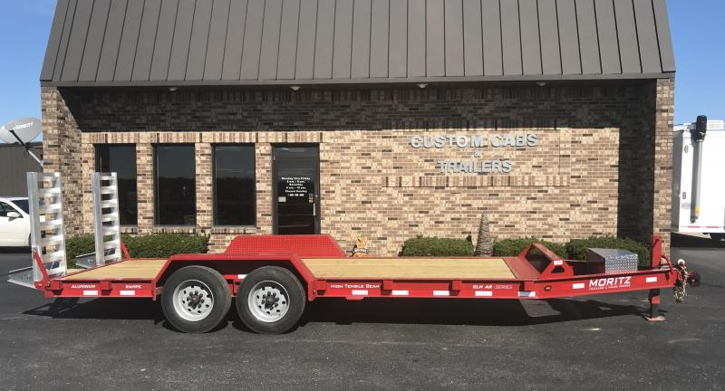 2019 Moritz International 20' UT 8K  Flatbed Trailer