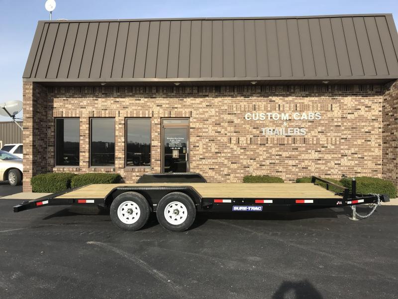 2019 Sure-Trac 20'  Wood Deck Car Hauler
