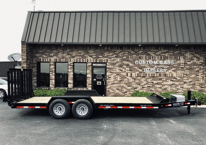 2019 Moritz International 20 UT 7K Flatbed Trailer