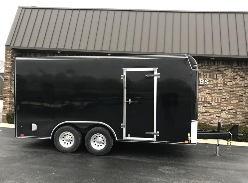 2018 United Trailers 8.5' x 16'  Enclosed Cargo Trailer