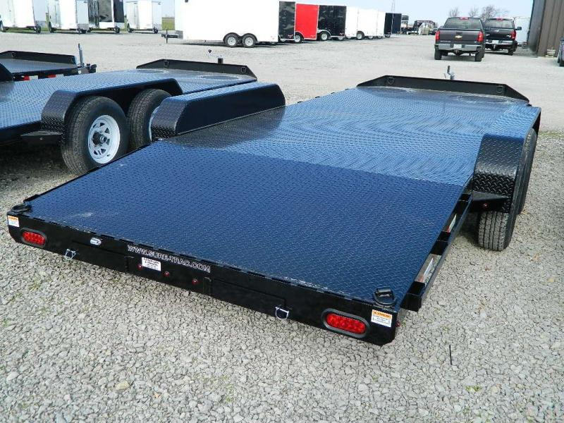 2019 Sure-Trac 7' x 18'  7K  Steel Deck Car Hauler