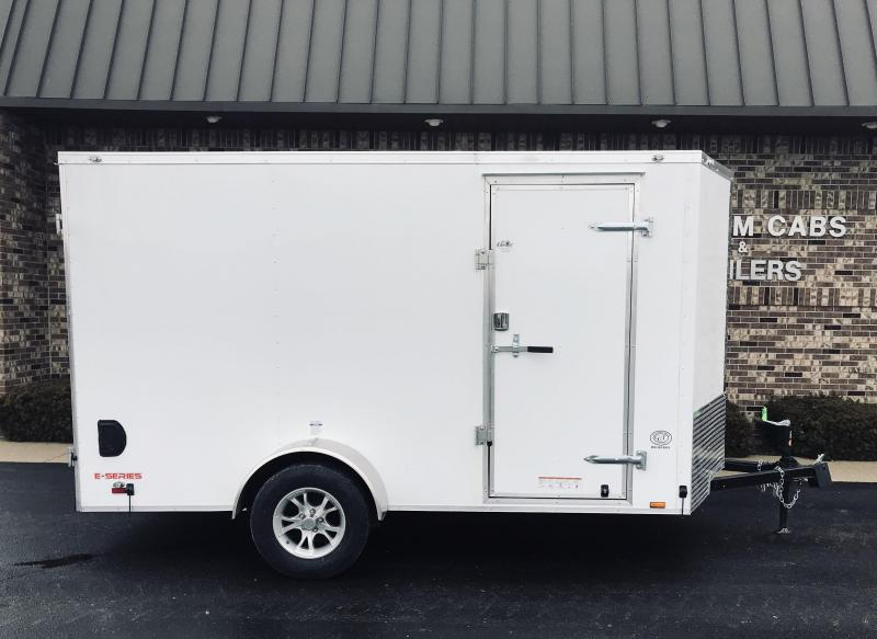 2019 Cargo Mate 6' x 12'  Enclosed Cargo Trailer