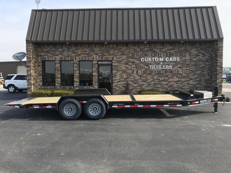 2019 Moritz International 16' + 6' 7K  GT Flatbed Trailer