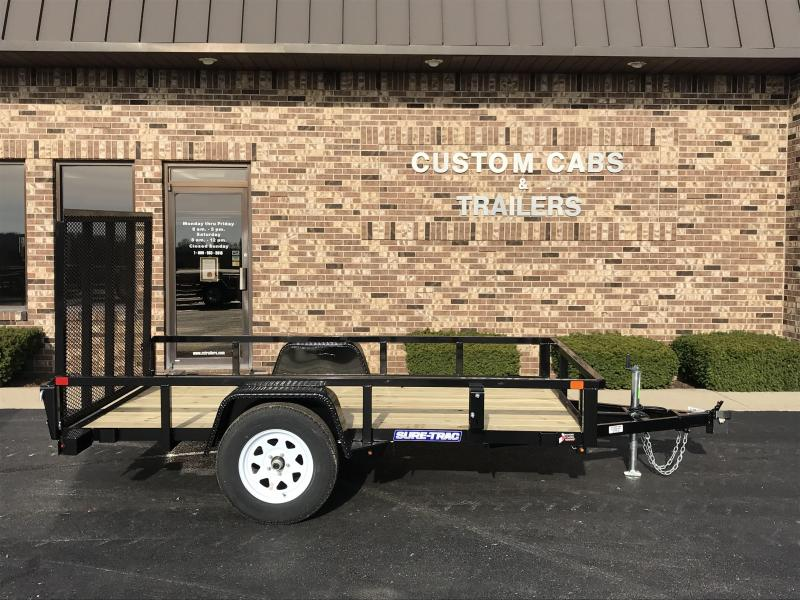 2019 Sure-Trac 6 X 10 Tube Top 3k Idler Flatbed