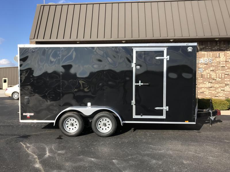 2019 Forest River 7' x 16'  Enclosed Cargo Trailer