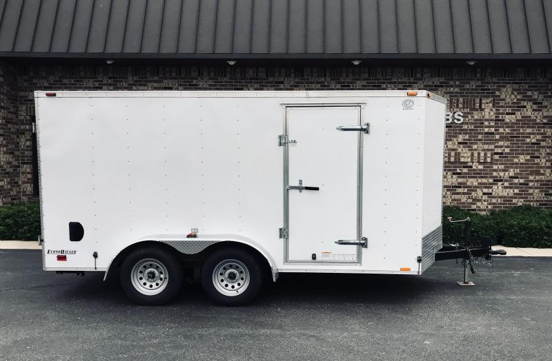2014 Cargo Mate 7' x 14'  Enclosed Cargo Trailer