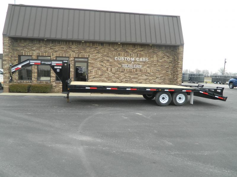 2019 Golden 25' + 5'  7K Flatbed Trailer